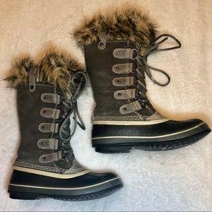 Sorel Joan of Arctic Winter Grey Boots